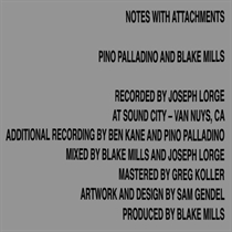 Pino Palladino & Blake Mills: Notes With Attachments (Vinyl)