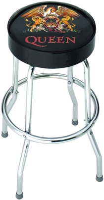 Queen: Classic Crest Bar Stool