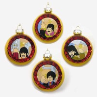 Beatles, The: Christmas Balls - Yellow Submarine Reflector