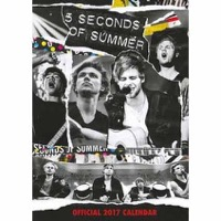 5 Seconds Of Summer: Calendar 2017
