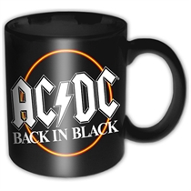 AC/DC: Back In Black Mug