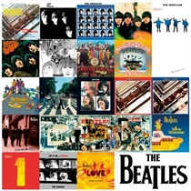 Beatles, The: Metal Wall Sign - Albums Chronology