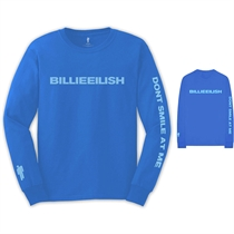 Eilish, Billie: Smile Longsleeve T-shirt
