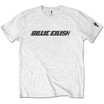 Eilish, Billie: Black Racer Logo T-shirt