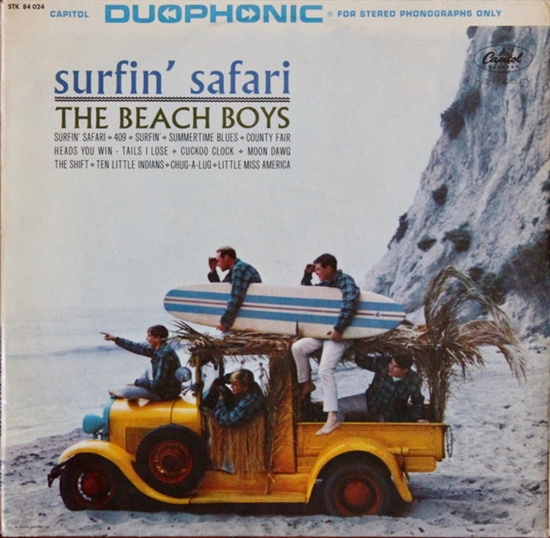 Beach Boys: Surfin\' Safari (Vinyl)