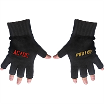 AC/DC: PWR Up Logo Fingerless Gloves