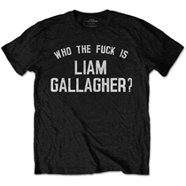 Gallagher, Liam: Who The Fuck... Black T-shirt