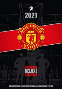 Manchester United: Kalender 2021 Deluxe