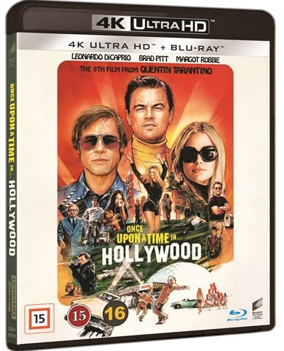 Once Upon A Time In Hollywood (4K Ultra HD)