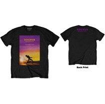 Queen: Bohemian Rhapsody Black T-shirt