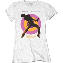 Queen: Fearless Girl T-shirt