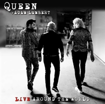 Queen + Adam Lambert: Live Around The World (CD/Blu-Ray)