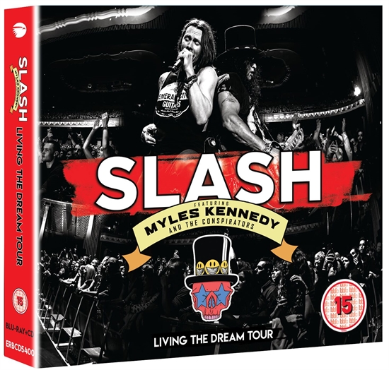 Slash: Living The Dream Tour (Blu-Ray/2xCD)