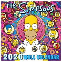 The Simpsons: Calendar 2020