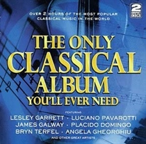 Diverse Kunstnere: The Only Classical Album You'll Ever Need (2xCD)