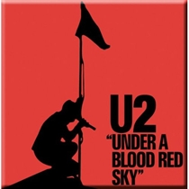 U2: Under A Blood Red Sky Fridge Magnet