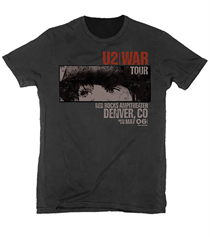 U2: War Red Rocks T-shirt