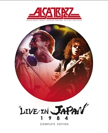 Alcatrazz: Live In Japan 1984 - The Complete Edition (BluRay+2xCD)