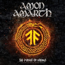Amon Amarth: Pursuit Of Vikings - 25 Years In The Eye Of The Storm  (BluRay+CD)