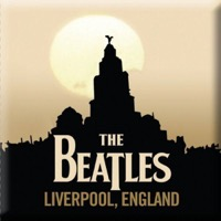 Beatles, The: Liverpool Fridge Magnet