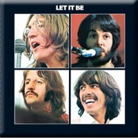 Beatles, The: Let It Be Fridge Magnet