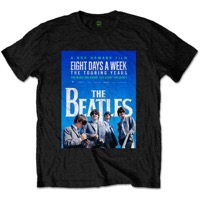 Beatles, The: Eight Days A Week Cover Black T-shirt