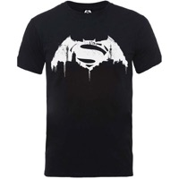 Batman v Superman: Beaten Logo T-shirt