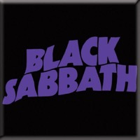 Black Sabbath: Wavy Logo Fridge Magnet