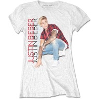 Bieber, Justin: Plaid Girl T-shirt