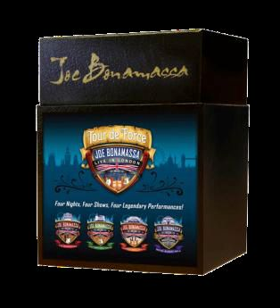 Bonamassa, Joe: Tour De Force - Live In London Box (4xBluRay)