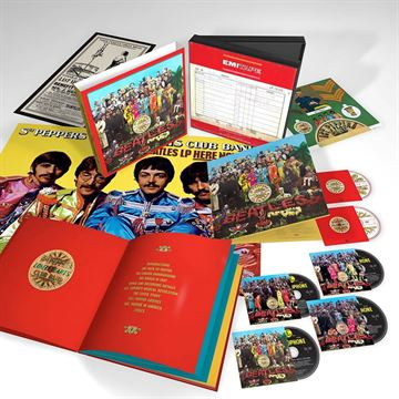 Beatles, The: Sgt Peppers Lonely Hearts Club Band 50th Anniversary Collectors Edition (4xCD/DVD/BluRay)