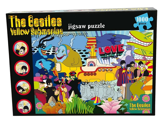 Beatles, The: Yellow Submarine (Puslespil)