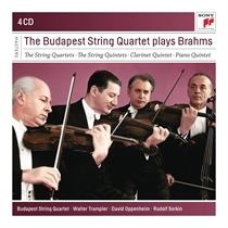 Budapest String Quartet: Plays Brahms (4xCD)