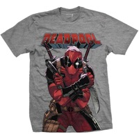 Deadpool: Deadpool Big Print T-shirt