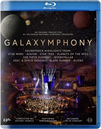 Danish National Symphony Orchestra: Galaxymphony (BluRay)
