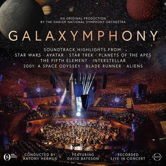 Danish National Symphony Orchestra: Galaxymphony (CD)