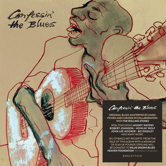 Diverse Kunstnere: Confessin\' the Blues (2XCD)