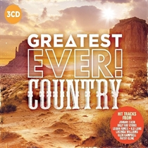 Diverse Kunstnere: Greatest Ever Country (3xCD)