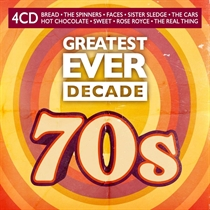 Diverse Kunstnere: Greatest Ever Decade - The Seventies (4xCD)