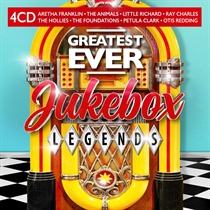 Diverse Kunstnere: Greatest Ever Jukebox Legends (4xCD)