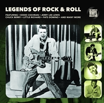Diverse Kunstnere: Legends Of Rock N Roll (Vinyl)