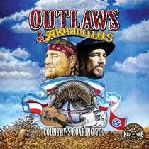 Diverse Kunstnere: Outlaws & Armadillos: Country's Roaring '70s (Vinyl)