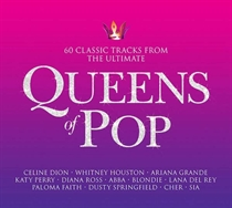 Diverse Kunstnere: Queens of Pop (3xCD)
