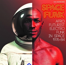 Diverse Kunstnere: Space Funk - Afro Futurist Electro Funk in Space 1976-84 (CD)