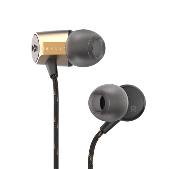House Of Marley: Uplift 2.0 In-Ear Headphones Brass