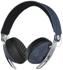 House Of Marley: Rise BT Headphones Denim