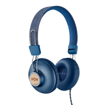 House Of Marley: Positive Vibration 2.0 Headphones Denim