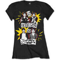 5 Seconds of Summer: Punk Pop Girl T-shirt