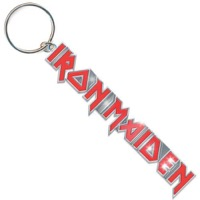 Iron Maiden: Logo Red Keychain