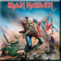Iron Maiden: The Trooper Fridge Magnet